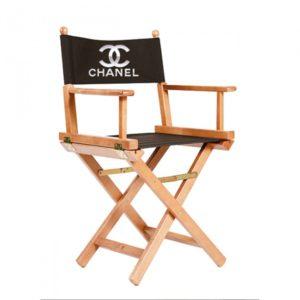 chaise metteur en scene adulte personnalisee naturel noir - Fauteuil Metteur En Scene