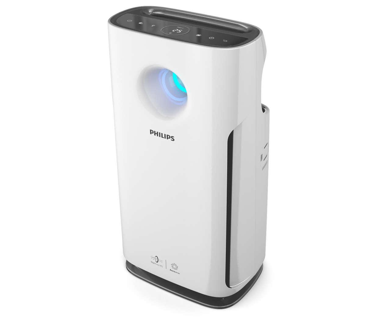 Monland Ionizer Purificateur dair pour la Maison G/éN/éRateur Dions N/éGatifs Filtre /à Air Supprimer Purification De Formald/éHyde Fum/éE Poussi/èRe