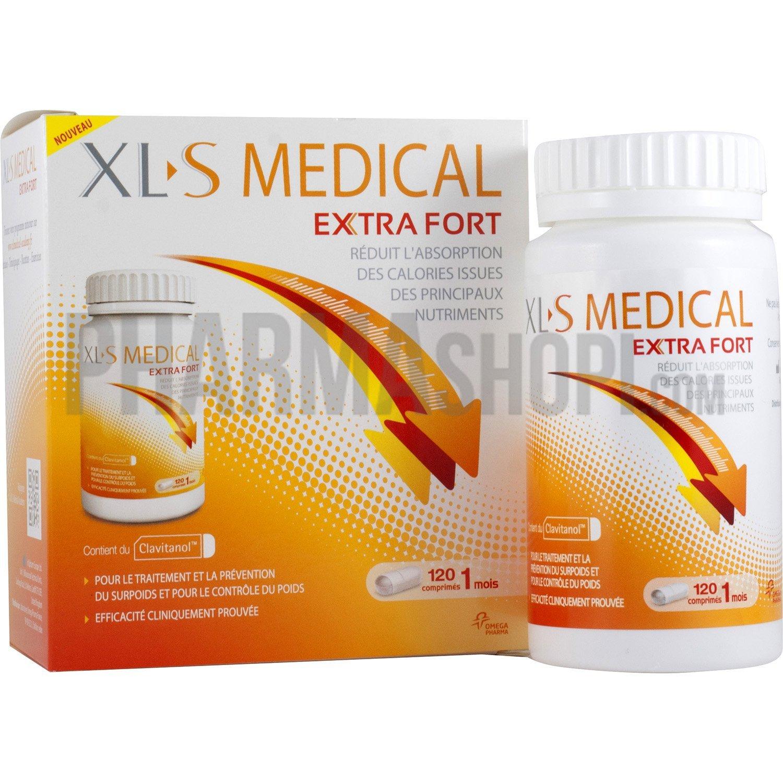 XLS Medical Max Strength/Extra Fort 120 Comprimés